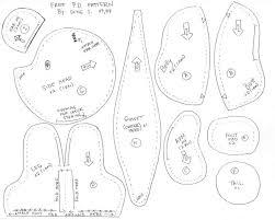 Teddy Bear Sewing Pattern Interesting Free Teddy Bear Pattern By Sewcuteplushies On DeviantArt