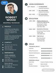 Edit Resume For Free Free Technician Resume Resume Free Professional Resume