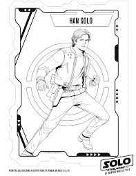 Secondly, coloring for kids it is not only filling with colors finished. Free Solo A Star Wars Story Coloring Sheets Kids Activities