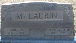 Gladys Griffith McLaurin (1895-1955) - Find A Grave Memorial