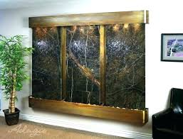 diy waterfall wall luxury indoor water fountain throughout custom interior and by how to build a