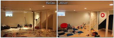 basement remodels before and after. Basement Remodeling By Monk\u0027s Home Improvements Remodels Before And After