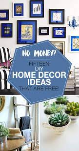 no money 15 diy home decor ideas that