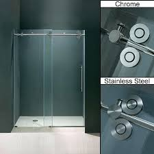 frameless sliding shower door hardware bath a update the look of your bathroom shower stall with these contemporary sliding glass shower doors barn style