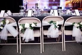do it yourself wedding chair decorations make a quick diy chair cover option