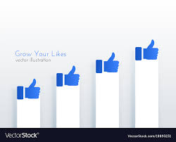 Growth Chart Design Like Upward Growth Chart Concept Design For