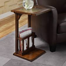 chair side table. lovely chair side table in home interior decoration with e