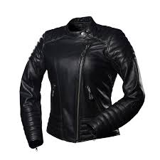 Women's motorcycle Cool jacket by 4SR | News | 4SR – For Street Racing & This quilted jacket with subtle logo and stylish shoulder & elbow patches  was made from premium, soft buffalo leather. If you admire the retro and  custom ... Adamdwight.com