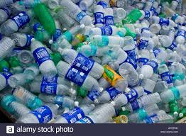 Plastic Bottle Recycling Plastic Water Bottles For Recycling In Thanjavur South India Stock