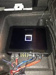 subwoofer installed attached images