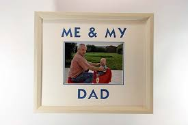 me my dad cream frame