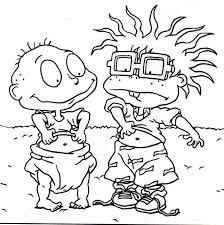 Small Picture 27 best Rugrats Coloring Pages images on Pinterest Rugrats