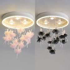 black pink fairy led ceiling mount