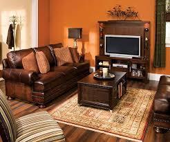 Burnt Orange And Brown Living Room Property Interesting Decorating Design