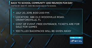 SECOND CUP: Back to School Community and Reunion Fun Day