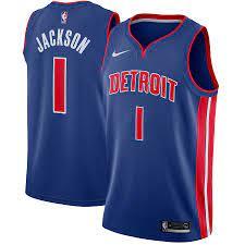 Men's Detroit Pistons Reggie Jackson ...