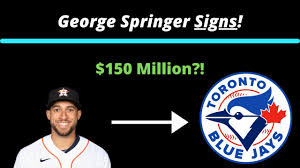 George Springer Sings Massive Contract ...