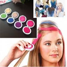 4pcs set hair chalk powder dye soft pastels salon hair color crayons fashion diy temporary wash out