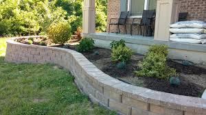 Front Yard Retaining Wall Designs Concrete Retaining Walls Wall Design Yard