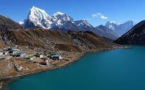 landscape #lake #village #Nepal Mount ...