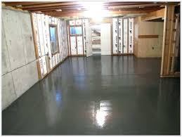 how to paint a concrete basement floor basement painting