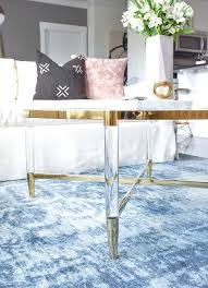 kitchen round lucite coffee table how to choose the right for your space a brass