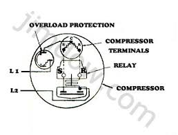 refrigerator compressor wiring diagram wiring diagram refrigerator pressor start relay diagram