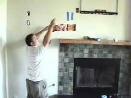 install tv above fireplace pt 7