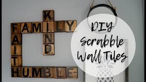 diy scrabble tiles wall art scrabble letters wall decor on wall art letters with diy scrabble tiles wall art scrabble letters wall decor youtube