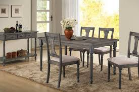 gray dining room table. Sale Wallace Gray Collection Dining Room Table E