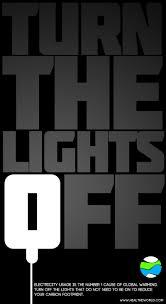 The Lights Off Turn Off The Lights Keep Earth Green Fan Art 33320763