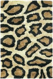 animal area rugs tiger leopard print rug canada