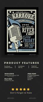 Karaoke Night Flyer Template Karaoke Night Flyer Karaoke Event Flyers And Flyer Template 18