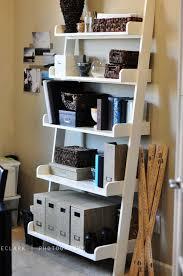 diy leaning wall shelf