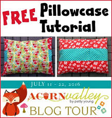 Free Pillowcase Pattern Interesting FREE Pillowcase Tutorial With Flannel Fabric PLUS A GiveAway