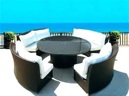 round outdoor settings timber outdoor lounge furniture