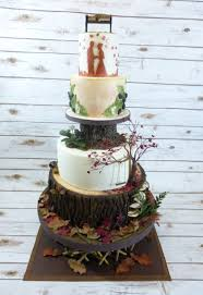 Woodland Wedding P O A Cake Pinterest Woodland Wedding
