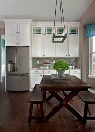 transitional style kitchen remodel by ksi kitchen and bath