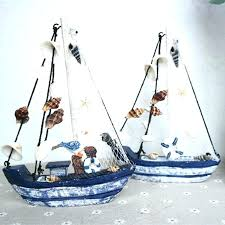 sailboat wall decor wood sail boat decor sailboat decoration wood boat craft style wooden ship model sailboat wall decor