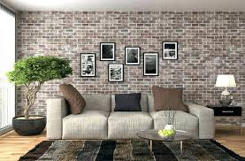 brick wall in living room living room brick wall photos removable faux accent brick wall home brick wall in living room