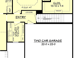 East Bailey House Plan  House Plan Zone - House with basement plans