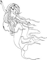 Disegni Delle Principesse Sirene Az Colorare