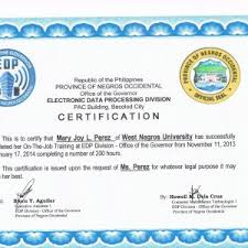 Sample Certificate For Ojt Completion Best Of Sample Course Pletion ...