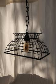 chic hanging lighting ideas lamp. Shabby Chic Black Wire Basket Hanging Light. $60.00, Via Etsy. Lighting Ideas Lamp