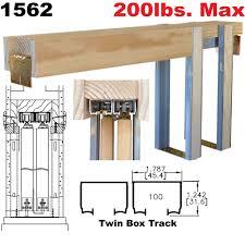 sliding door hardware kits invisidoor pocket door hardware kit