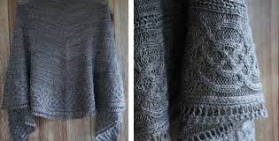 Knitted Shawl Patterns Cool Celtic Myths Knitted Shawl [FREE Knitting Pattern]