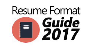 Resume Format 2017 Best The Complete Resume Format Guide For 60