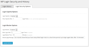 WP Login Security and History WordPress Plugin