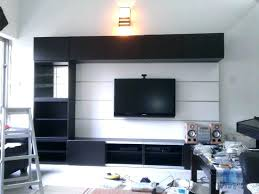 ikea tv cabinet floating stand stand black furniture with wooden cabinet and selves also floating brown