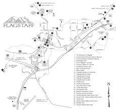 flagstaff az maps  kachina village maps  mountainaire maps